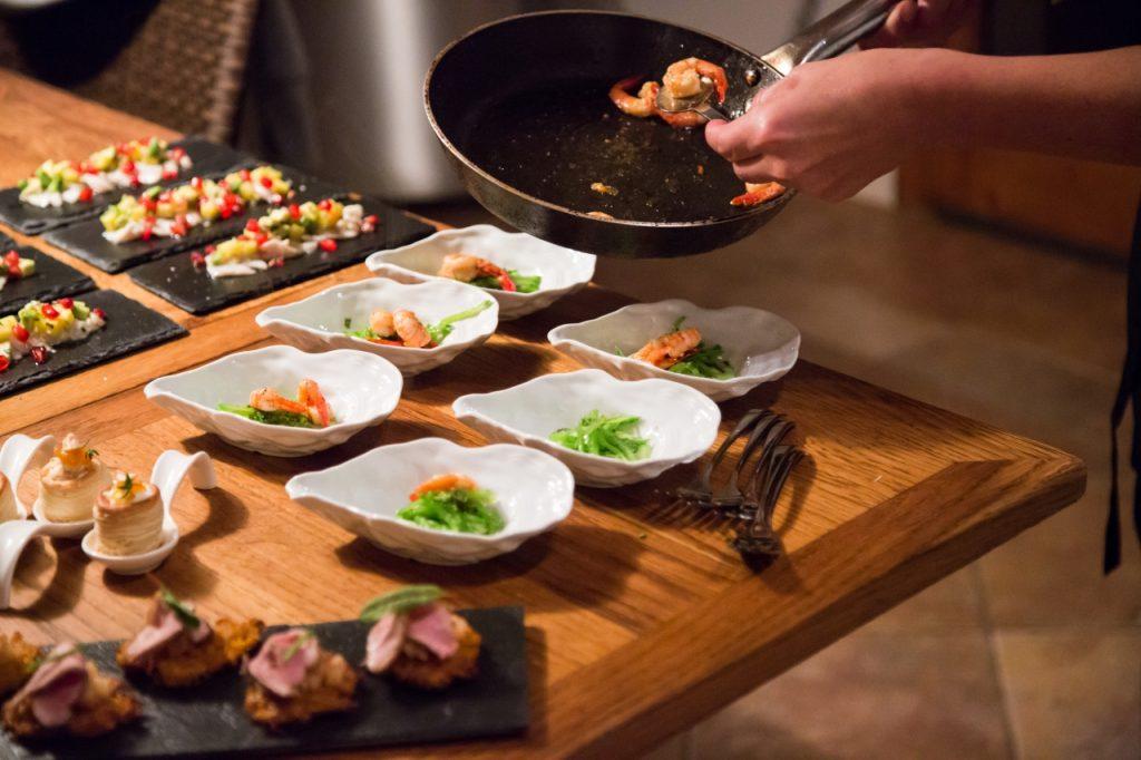 Wedding Catering Mallorca - Dekoration Hochzeitsmenü - Mallorca Food Club