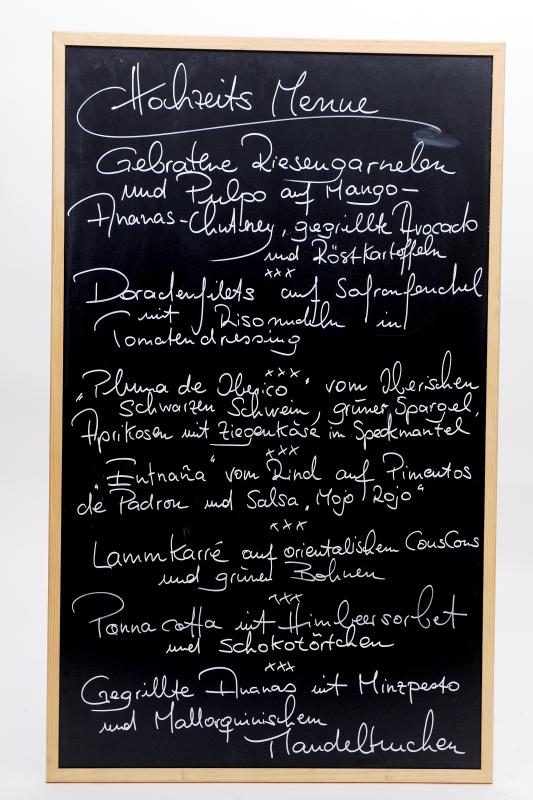 Menue Hochzeit Catering Mallorca - Mallorca Food Club